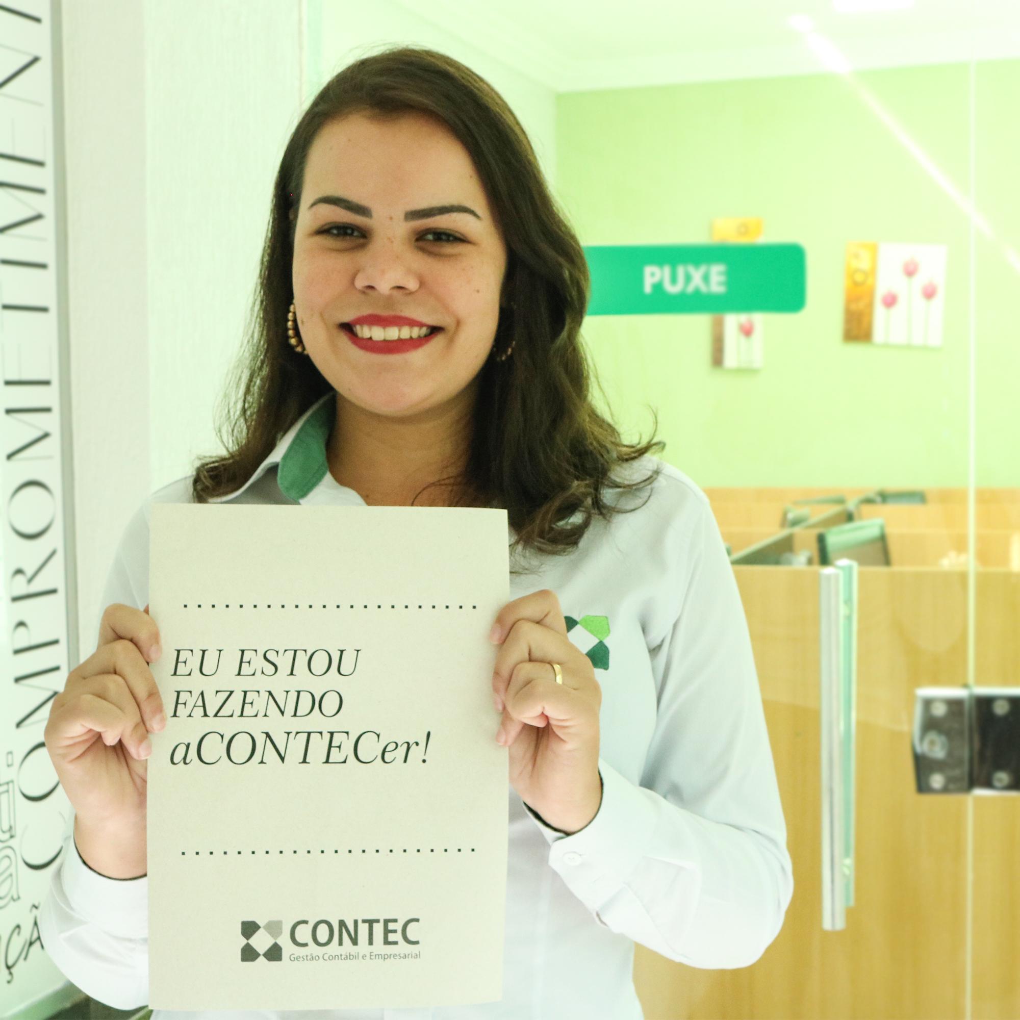 Rayanne Damas Supervisora Tributário - Contabilidade em Ceres - Goiás   Contec Gestão Contábil e Empresarial